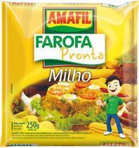 Farofa pronta de milho Amafil 250g -