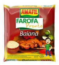 Farofa pronta mandioca baiana Amafil 250g -