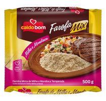 Farofa Pronta Mix Mandioca e Milho 500g - Caldo Bom -
