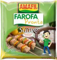 Farofa pronta suave Amafil 250g -