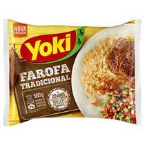 Farofa Pronta Tradicional 500g - Yoki -