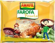 Farofa pronta tradicional Amafil 500g -