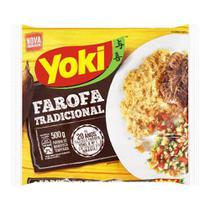 Farofa Pronta Yoki De Mandioca Temperada 500 G -