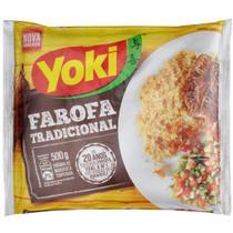 Farofa Temperada Yoki Tradicional 500G -