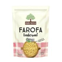 Farofa Tradicional Orgânico 200g  - Mãe Terra -
