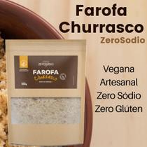 Farofa vegana churrasco 300g - zerosódio - Zerosodio