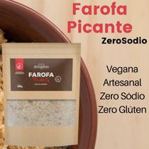 Farofa vegana picante 300g - zero sódio - Zerosodio