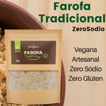 Farofa vegana tradicional 300g - zerosodio -