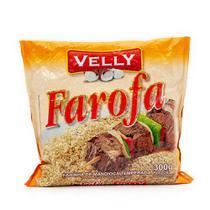 Farofa Velly Mandioca Temperada 300g -