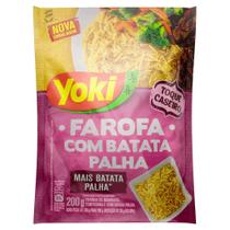 Farofa Yoki com Batata Palha 200g -