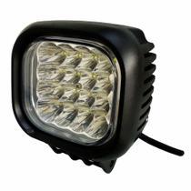 Farol Auxiliar de Trabalho com 16 LEDs 48W - DNI 4163 -