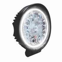 Farol Auxliar de Trabalho com Anel Luminoso Branco - 27W - DNI 4180 -
