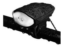 Farol Bike Bicicleta Led  Buzina-140Db/Bateria Recarregável USB/ Impermeável - Mod: 7588-B - Bing
