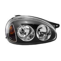 farol corsa pick up 95-02 mascara negra foco duplo - Rcd/inovox