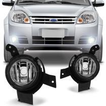 Farol de Milha Fiesta Hatch Sedan 2007 a 2010 Ka 2008 a 2011 Ecosport 2008 a 2012 Auxiliar Neblina - Prime