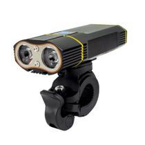 Farol dianteiro recarregável USB 900 lumens TSW -