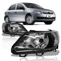 Farol Gol 2008 A 2013 Saveiro Voyage G5 Máscara Negra - Automotive Imports