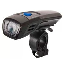 Farol Lanterna Dianteira LED Branco Para Bicicleta Bike - Thata Esportes