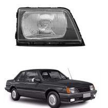 Farol lente acrílico gm monza 1988 até 1990 lado direito passageiro - Inov