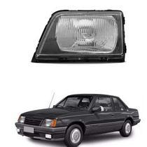 Farol lente acrílico gm monza 1988 até 1990 lado esquerdo motorista - Inov