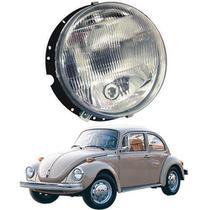 Farol lente acrílico vw fusca - kombi 1955/... todos com pisca - Inov