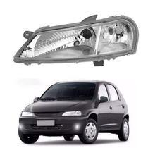 Farol lente de acrílico gm celta 2002/.... antigo lado esquerdo motorista - Inov