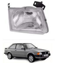 Farol lente de vidro ford escort 1983 até 1986 lado direito passageiro - Inov