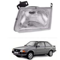 Farol lente de vidro ford escort 1983 até 1986 lado esquerdo motorista - Inov