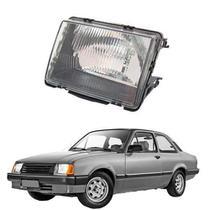 Farol lente de vidro gm chevette - chevy - marajo 1983 até 1993 lado esquerdo motorista - Inov