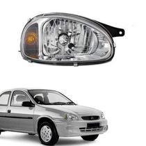 Farol lente de vidro pisca ambar gm corsa 2000 até 2005 lado direito passageiro - Inov