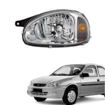 Farol lente de vidro pisca ambar gm corsa 2000 até 2005 lado esquerdo motorista - Inov