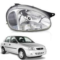 Farol lente de vidro pisca cristal gm corsa 2000 até 2005 lado direito passageiro - Inov