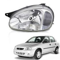 Farol lente de vidro pisca cristal gm corsa 2000 até 2005 lado esquerdo motorista - Inov