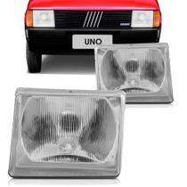 Farol Principal Fiat Uno Elba Premio Fiorino 1984 a 1990 Lado Esquerdo - Rcd
