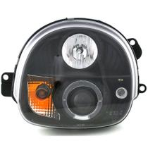 Farol Renault Twingo 1993 a 2003 Projector Angel Eyes Led Máscara Negra - Sonar