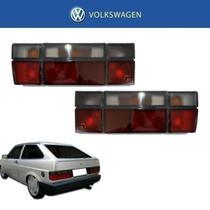 Farol Traseiro Volkswagen Gol GTS 1993 Fumê Kit com 2 -