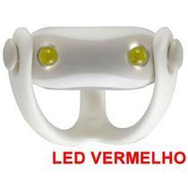 Farol Vista Light Infini I-203R Led Vermelho WUKONG Branco -