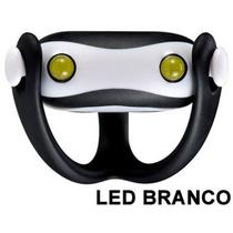 Farol Vista Light Infini I-203W Led Branco WUKONG Preto -