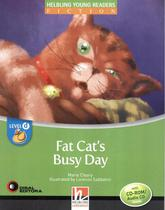 Fat cats busy day with cd-rom + audio cd - level d - Disal editora