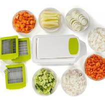 Fatiador de Alimentos Cortador de Legumes Frutas Queijos com Reservatorio 3 laminas P M G - Kitchen