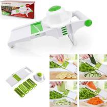 Fatiador Ralador Cortador Legumes Salada Multiuso 5 Lâminas - Clink