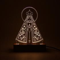Fé - Luminária Nossa Senhora Aparecida - Oficina 021
