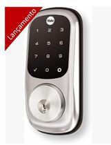Fechadura Digital com Senha e Chave Yale YRD 226 -