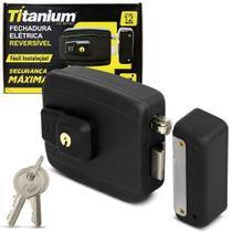 fechadura eletrica titanium do brasil -