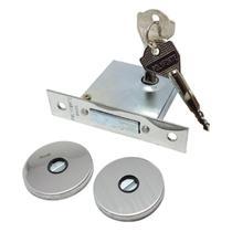 Fechadura trava de segurança auxiliar tetra original polyforte para porta de 2 voltas com 2 chaves e garantia -