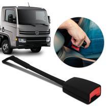 Fecho Cinto de Segurança Caminhão Volkswagen Haste Flexível Fêmea Preto - Dialp
