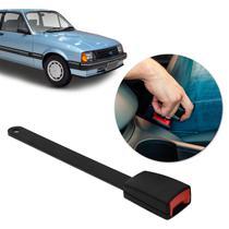 Fecho Haste Rígida Fêmea Cinto de Segurança Chevette 1985 a 1993 Preto Ideal para Reposição - Dialp