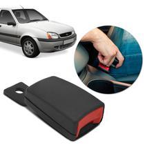 Fecho Haste Rígida Fêmea Cinto de Segurança Fiesta Hatch 96 a 10 Sedan 01 a 10 Preto para Reposição - Dialp