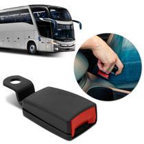 Fecho Haste Rígida Fêmea Cinto de Segurança Ônibus Paradiso G7 Preto Ideal para Reposição - Dialp