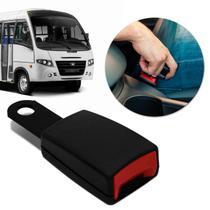 Fecho Haste Rígida Fêmea Cinto de Segurança Universal Micro Ônibus Preto Ideal para Reposição - Dialp